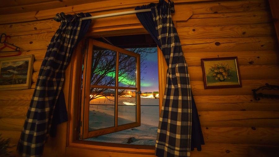 Window of Borealis Andøya Aurora Borealis Borealis Window Curtain Dverberg Geomagnetic Storm Nature Northern Lights Norway Solar Storm Solar Wind Window First Eyeem Photo