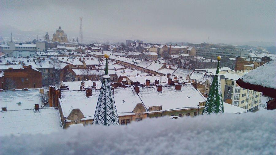 Lviv Winter Winter Sky First Eyeem Photo