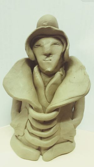 Clay Clay Work Clay Sculpture Clayart Claysculpture That's Me Hanging Out Check This Out Cheese! Relaxing Taking Photos Enjoying Life Hello World