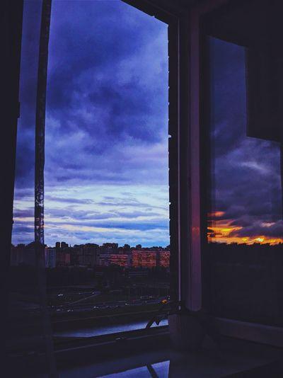 Window Night