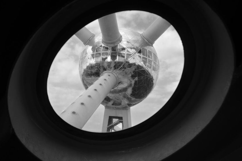 Archineos Architecture Architecture Atomium B&n B&w Belgio Belgium Bianco E Nero Black And White Blanco Y Negro Bruxelles Building Exterior Circular Detail Expo Indoors  Monochrome No People Structure Ugo Villani