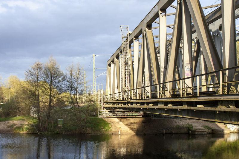 Bridge Bridge - Man Made Structure Built Structure Die Schönheit Des Nordens Die Stadt Am Meer Hansestadt Hansestadt Rostock Marítim Norddeutschland Rostock Rostocker Ansichten Water Under The Bridge