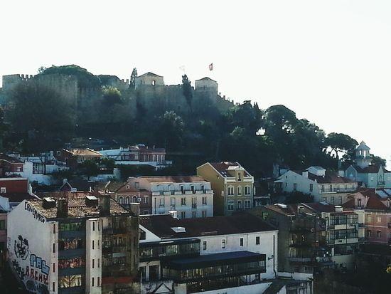 Vista linda para o castelo s. Jorge