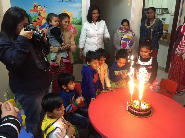 Birthday celebration at Smiling Stars Visit: Child Care Centers Jaipur Children Day Care Centers Jaipur Daycare Kids Kids Play School Jaipur Pre Schools Jaipur Workingmom