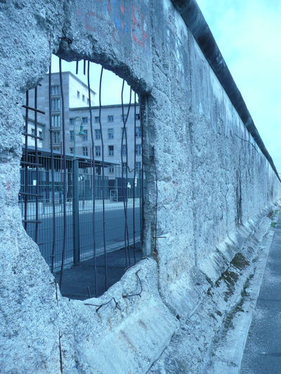 Berlin Devided City Bloodless Revolution Built Structure End Of The Cold War End Of The Communist Dictatorship Fall Of The Iron Curtain Hole In The Berlin Wall Peaceful Revolution Peoples Revolution Resist Resist The Dictatorship Resistance Of The People The Berlin Wall