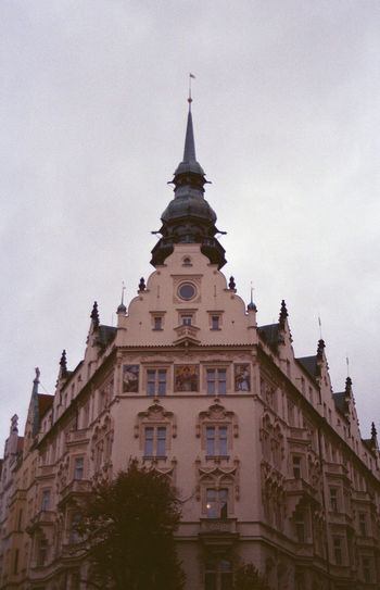 Prague Architecture Building Exterior Built Structure City Day History No People Outdoors Sky Tower Tree