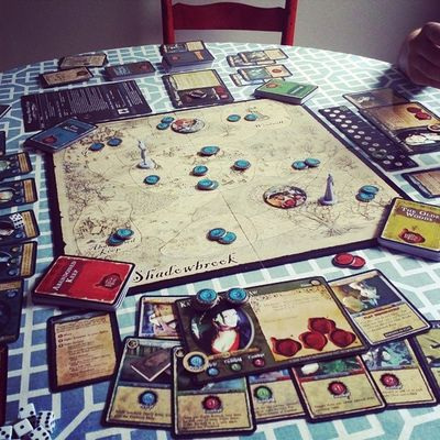 Boardgames and tea all afternoon with the roomie. Game Boardgame Atouchofevil Roommate  bestfriends love5ever staygold
