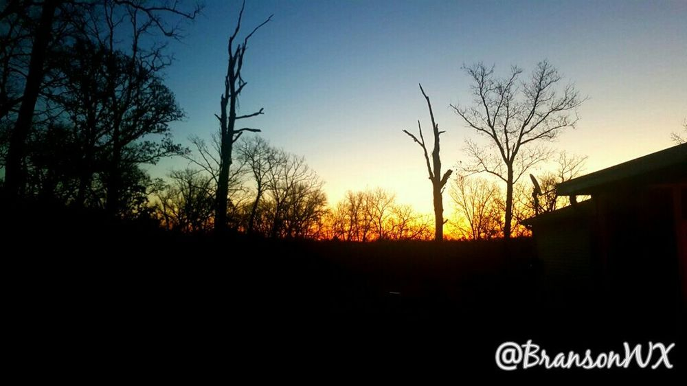 This mornings sunrise in Branson Mo 1/12/16 Check This Out Capture The Moment Taking Photos View Peace And Quiet Hi! Hello World Lovely Weather