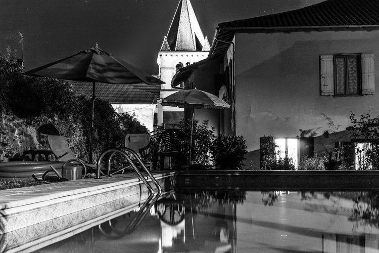 Blackandwhite Black & White Nightphotography France Water Reflections Night Sky Peaceful Fine Art Photography