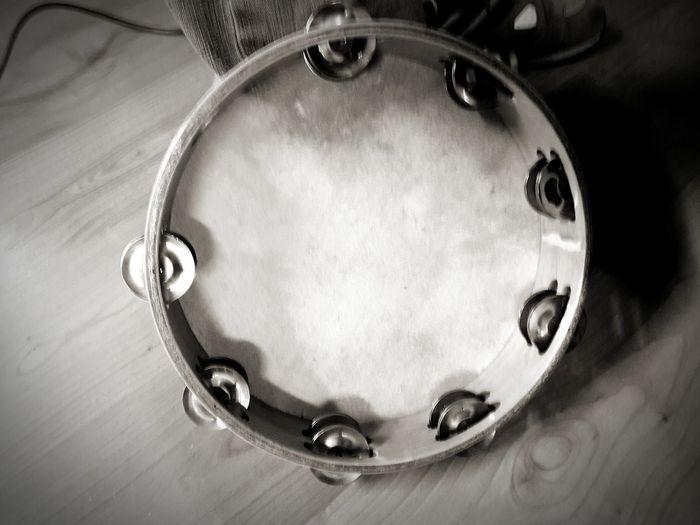 Black & White Musical Instrument Musician Lovemusic Music Song Tamburello