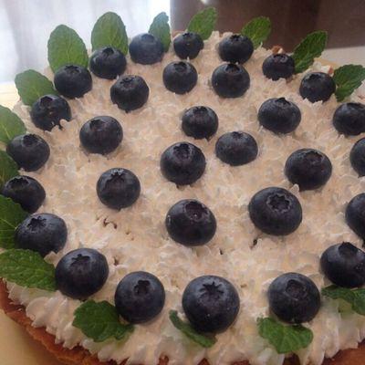 タルト ブルーベリー Cooking 料理 ケーキ