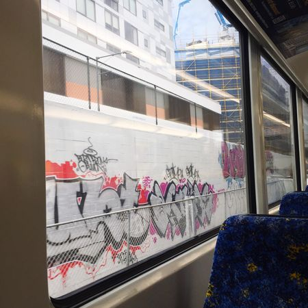 Graffiti Public Transportation Subway Train IPhoneography Train Ride Street Art Sydney