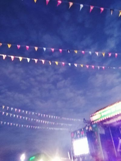 Festival Live Music Music Festival Stage Flags Stageflags Night Night Lights Clouds Purplesky Skylight