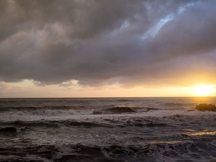 Storm sea and his light Beach Beauty In Nature Cloud - Sky Darkness Darkness And Light Dramatic Sky Horizon Over Water Nature Night Sea No People Outdoors Scenics Sea Seascape Sky Storm Storm Cloud Storm Sea Sunrise Sunset Thunderstorm Wave