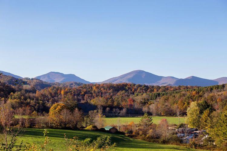 Blue Ridge Mountains Mountain Boone Blue Ridge Parkway North Carolina