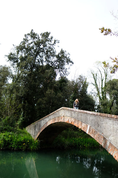 The Devil's Bridge in Pietrasanta, Tuscany Arch Arch Bridge Architecture Beauty In Nature Bridge Bridge - Man Made Structure Built Structure Canal Connection Day Engineering Footbridge Green Color Nature Outdoors Plant River Scenics Sky Tranquil Scene Tranquility Travel Destinations Water