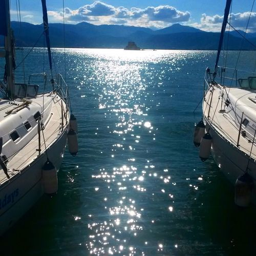 Check This Out Hello World Taking Photos Nafplion Greece Sea And Sky Ships⚓️⛵️🚢