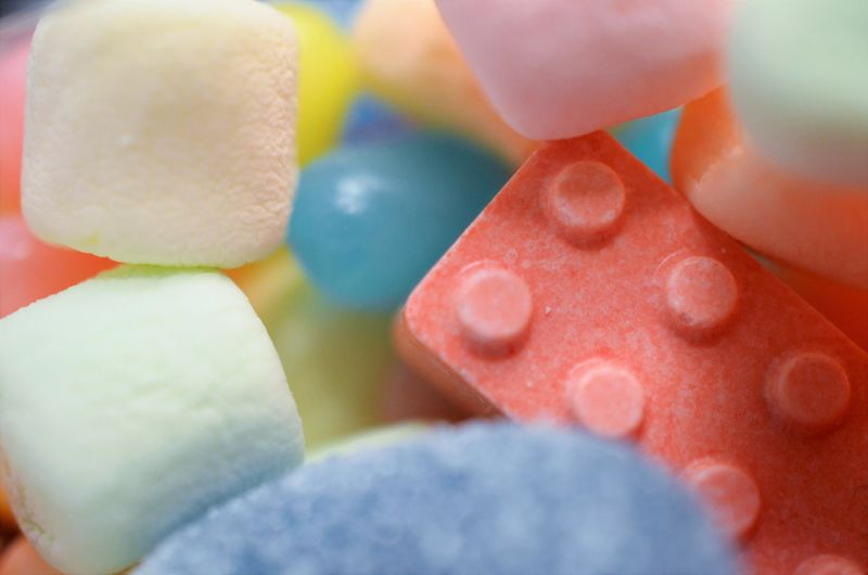 candies Candy Childhood Close-up Colorful Colors Cropped Depth Of Field Detail Extreme Close Up Focus On Foreground Food And Drink Indulgence Jellybean Marshmallows Organic Part Of Pastel Pastel Power Real People Ripe Selective Focus Sweet Sweets Temptation Variation Millennial Pink Visual Feast
