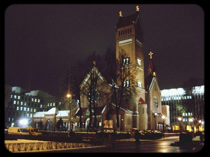 Hello World Minsk Arhitecture Kostel