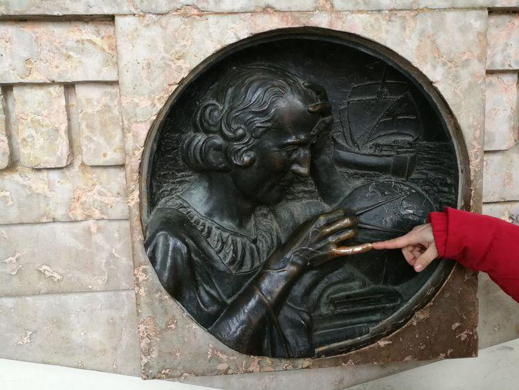 the lucky charm finger of christopher columbus Christopher Columbus Dinosomà Finger High Relief Luckycharm Mascot Talisman Turin