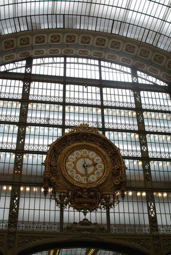 Paris Clock Impressionism Museum Musée D'Orsay Orsay