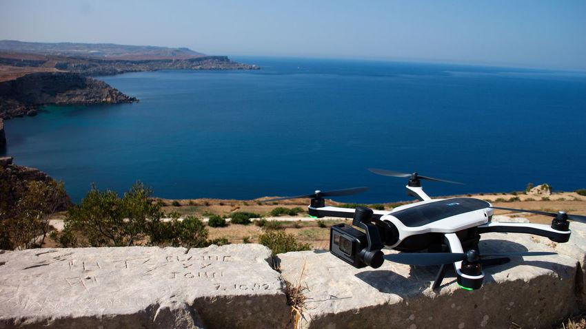 Go Pro Karma Drone Adobe Beach Canon Go Pro Photography Hobbyphotography Malta Mellieha Photographer Sunny Day