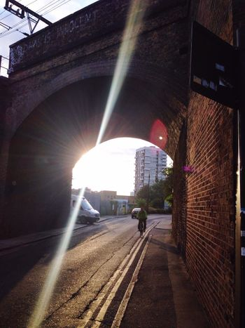 London Sunshine Bike Bridge