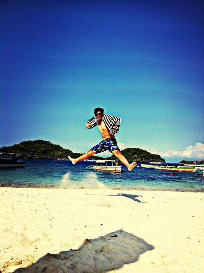 sembreak! ? Being A Beach Bum