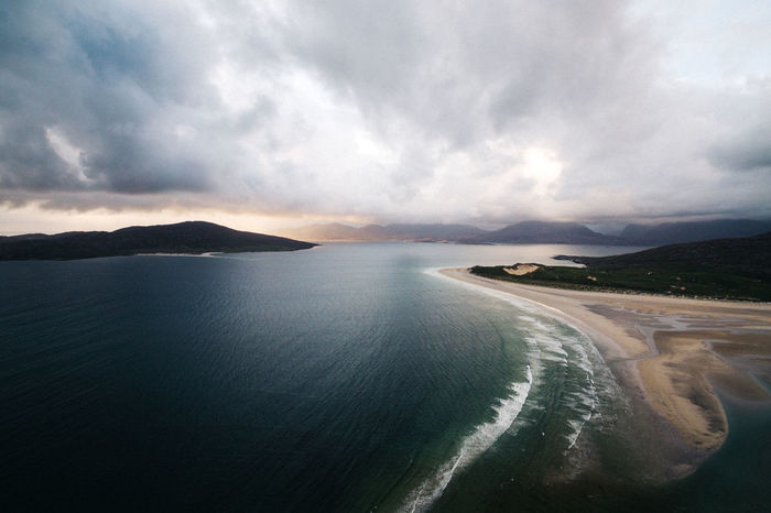 fading Copy Space Drone  Landscape_Collection Scotland Aerial Aerial View Beauty In Nature Cloud - Sky Day Dronephotography Landscape Mountain Mountain Range Nature No People Outdoors Scenics Sea Sky Tranquil Scene Tranquility Water