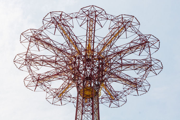 Coney Island Summer 2017 City Nature Amusement Park Day Pattern Ride Sky Structure Urbsan