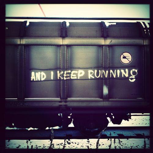 And I Keep Running