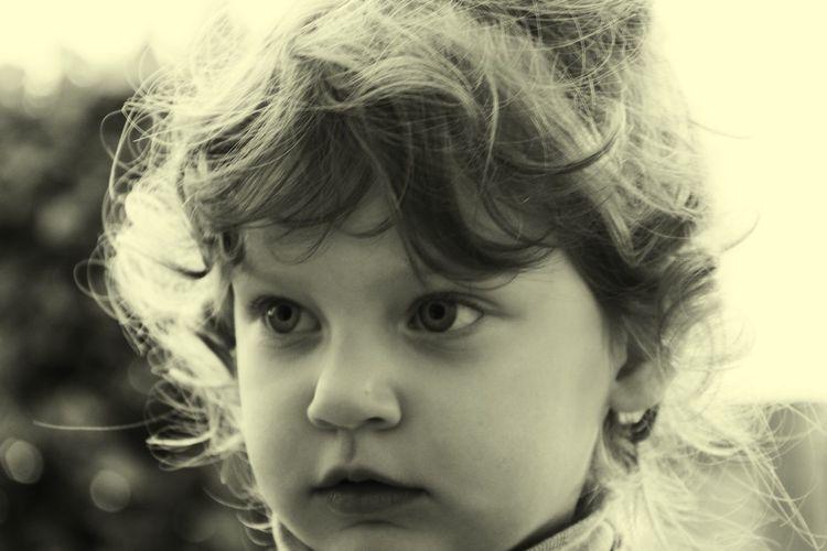 Child Human Eye Portrait Childhood Girls Headshot Human Face Looking At Camera Blond Hair Elementary Age Tensed Teardrop