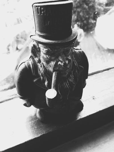 one more to my antique captures Man With Cigar Pipe Antiques Photography Black And White Photography Eyemphotography Travellling Capture The Moment One Person Adults Only One Man Only Only Men Real People Adult Front View