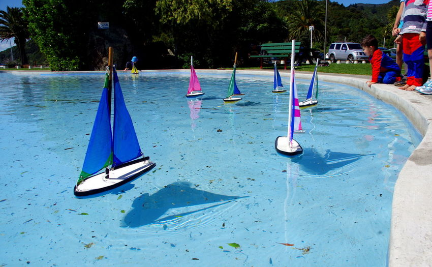 Boats Clearwater Fun Kids Being Kids Newzealand Picton  Race Travel Photography Water