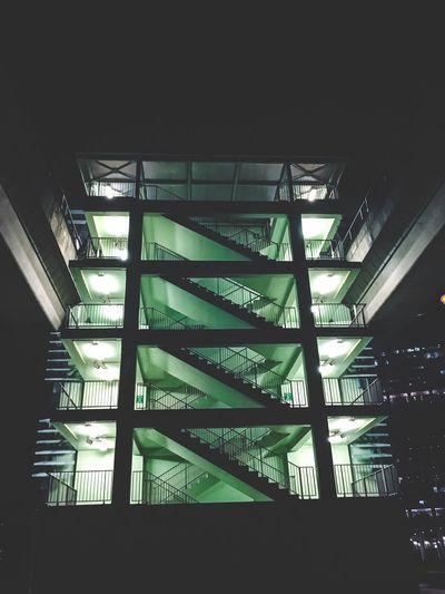City Still Life City Life Tourist Outdoors Architecture Singapore Travel Destinations Symmetry Night Lights Night Life