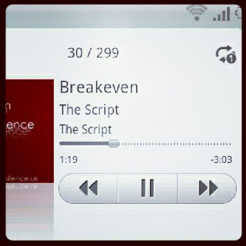Breakeven Thescript Replay Beautifulsong
