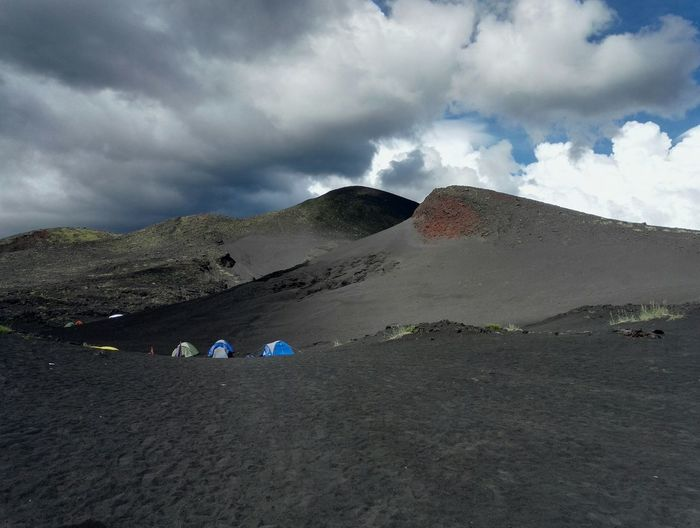 [ Expectation ] No Filter Cloud - Sky Bear Miles Away Kamchatka Volcano Volcanic Landscape Russia Camping Honor7 Huwawei The Great Outdoors - 2017 EyeEm Awards
