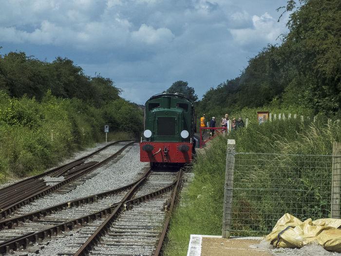 Diesel Power Green Color Outdoors Public Transportation Rail Transportation Railroad Track Railway Track Swindon