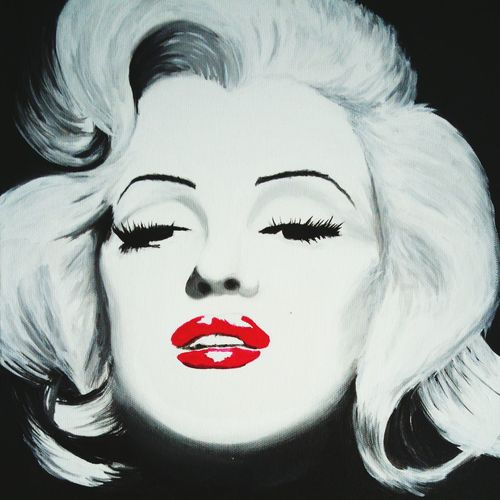 Fine Art Photography Marlyn Monroe Acrylic Painting Acrylic Art Acrylic On Canvas Marylin Monroe❤ Marylin Monroe Tribute Canvas Art Canvas Paintings Fine Art