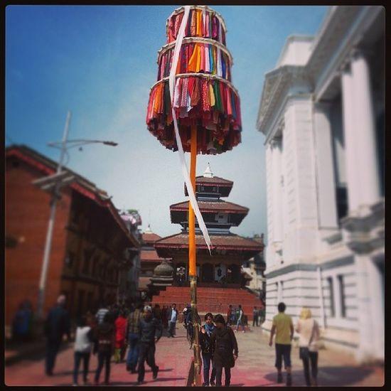 Holi Starts FestivalOfColors Basantapur