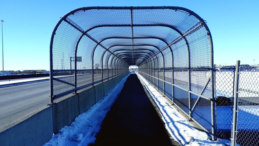 QVHoughPhoto FujiFilmX100 Fargo Northdakota I29 Sidewalk Winter Snow MidWest Life2 Cityscapes