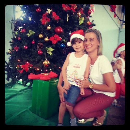 Festa de natal da escola do Arthurzinho TiaMileide