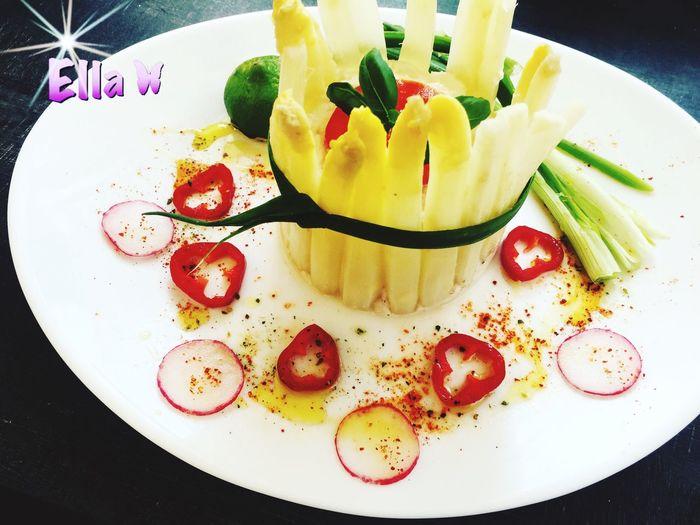 Charlotte aux asperges. Food Asperge Asparagus Goodfood Healthy Eating Healthy Food FrenchKitchen Cuisine Maison Cuisine Français