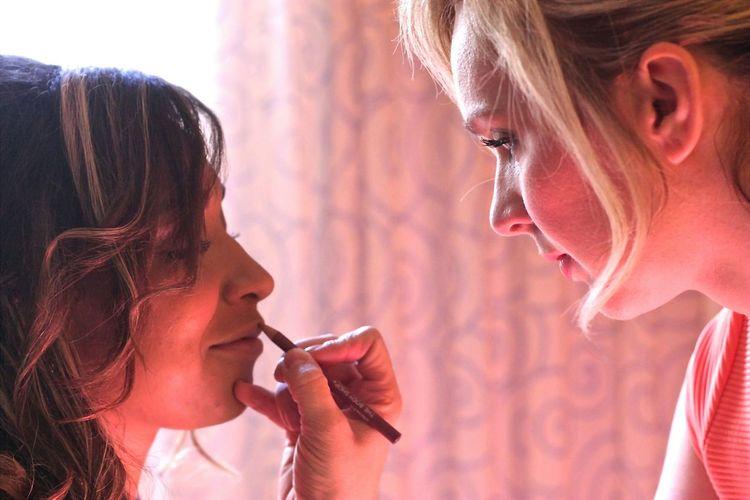 Wedding Photography Wedding Day Makeup Putting On A Fresh Face... EyeEm Best Shots