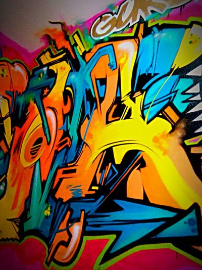 III.Graff in the room Graffiti Graffitti