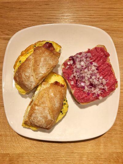 Rindertatar & Frühstückseibrötchen! #SoGood