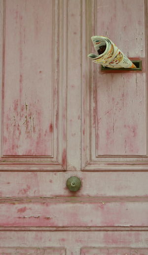Doors Martigues Old-fashioned Architecture Built Structure Close-up Closed Day Door Entrance In The City No People Old Outdoors Pair Pattern Protection Red Color Safety Security Shoe Still Life Wall - Building Feature Wood - Material
