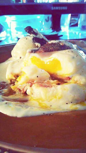 duck eggs benedict Foodporn Food