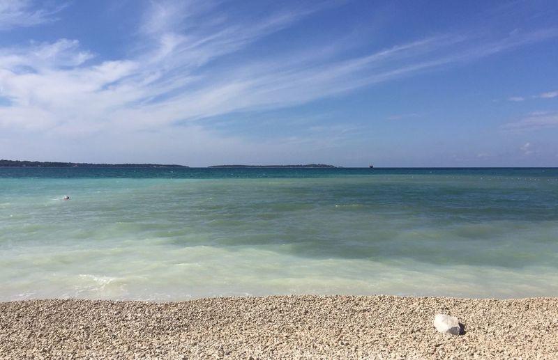 My Year My View miss having this view everyday, beautiful Fazana in Croatia