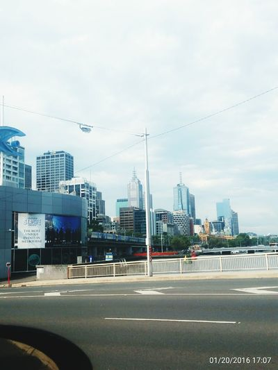 Taking pics on the road on a sunny Melbourne City Daylight during Midday Sun Loving Life!